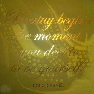 Coco Chanel Wall Art